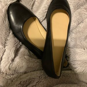 Lands end Leather flats